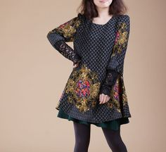 2014 Spring Cotton dress short sleeve dress by PerfectChlothing, $59.90. Love the pattern on this one.