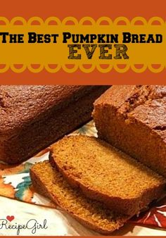 I make this every year for friends and neighbors as holiday gifts- it's a HUGE favorite.  Turns out perfect every time: Pumpkin Bread