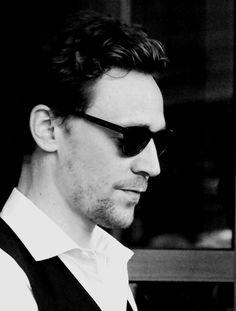 tom hiddleston | man he looks good in B&W