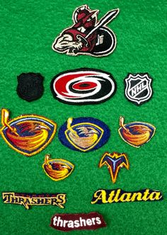 Lot of 12 Hockey/NHL Patches by CoryCranksOutHats on Etsy