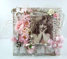 Live & Love Crafts' Inspiration and Challenge Blog: Pink Vintage