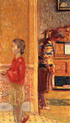pierre bonnard(1867-1947), the vestibule, 1927. oil on canvas, 99.9 x 59.3 cm. private collection http://www.the-athenaeum.org/art/detail.php?ID=127601