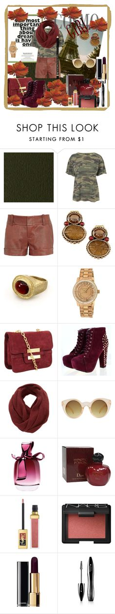 """gossip girl"" by antonija2807 ❤ liked on Polyvore featuring Kershaw, Topshop, Alice + Olivia, Stephen Dweck, Michael Kors, Z Spoke by Zac Posen, SELECTED, ASOS, Nina Ricci and Christian Dior"