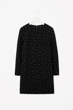 Dotted wool dress