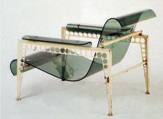 Jean Prouve-Garden Furniture for UAM Exhibition,1937.