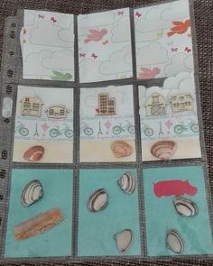 Pocket letter beach themed