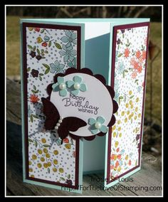 ~For The Love of Stamping~: Gate fold Card