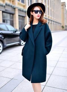 Nice Oversized Wool Coat With Quilting Winter Warm Trench coats abrigos mujer Grey Camel Long Thick Women Wool Coats Plus Size