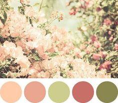 Mais uma paleta de cores linda!
