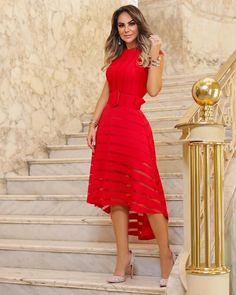 """ecca714575d Mená Brasil Atacado on Instagram  """"Red dress é a novidade all glam da nossa  store. ❤ 💋  usemená  coleçãobelieve ▫️Vendas em atacado através do número  ..."""