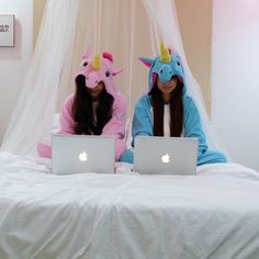 unicorn, apple, and friends