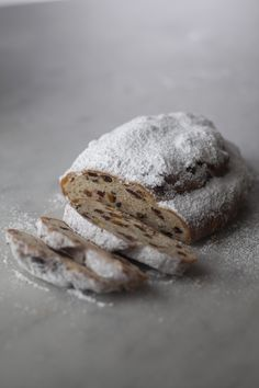 "Stollen. I made this from scratch one year when dating my hubby...after listening to Jazz at the nightclub; had to come home to rising dough...for fear of it taking over my apartment like the ""blob""...paid $50 for fresh ingredients and made twenty loaves...SUPERB!!"
