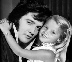 Daddy's girl  Elivs and Lisa Marie Presley     #elvisserendipity
