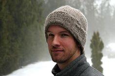 A Tweed Hat — viridian hue