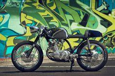 Honda cb77/superhawk cafe racer