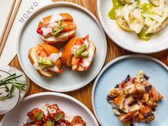 The Hottest Restaurants in Manhattan Right Now, March 2020 East Village Restaurants, Manhattan Restaurants, Restaurant New York, Chinese Restaurant, Korean Menu, Sour Cherry Jam, Scallop Ceviche, Delicious Destinations, Fish And Chip Shop