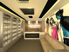The Channel belongs to VIVEA-VIVECK VERMAA ARCHITECTS & VIVEADESIGN VIVEA is one of the topmost architects & interior designers in Delhi - NCR with pan India... Interior Designers In Delhi, Salon Interior Design, Beauty Salon Design, Beauty Salon Interior, Interior Design Services, Pop Design, Salons, Spa, Delhi Ncr
