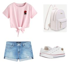 """""""Untitled #32"""" by sara-balut on Polyvore featuring WithChic, J Brand and Converse"""