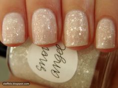 snow angel nail polish