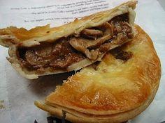 Kay and Charlis mushroom pie!