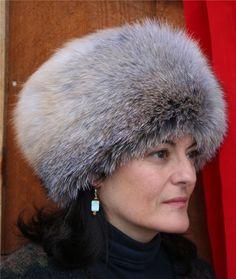 Glacier Wear - Glacier Wear - Golden Island Fox Pill Box Style Fur . 703e6a269ebb