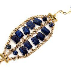 Lapis Bracelet by Minu Jewels