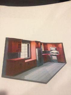 Mom's new kitchen design