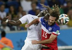kyle beckerman I call him the Hippy of the US team, but he is pretty good at soccer