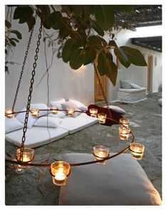 Gorgeous Tuscan feel lighting