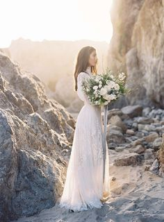 Sultry Seaside Bridals by Joey Kennedy Photography   Wedding Sparrow