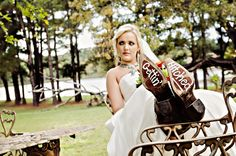 Bridal Picture taken outside of Castle on the Lake in Jacksonville, Texas by L.G. Photography