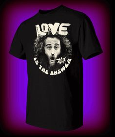 LOVE IS THE ANSWER! - Matthew Silver T Shirt