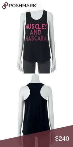 Chin Up Juniors' Graphic Racerback Tank Top Product Details She'll look her finest in this fashionable juniors' racerback graphic tank top from Chin Up.  PRODUCT FEATURES Racerback Scoopneck Shirttail hem Tag-free FABRIC & CARE Polyester, rayon, spandex Machine wash Imported Tops
