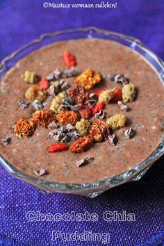Maistuis varmaan sullekin!: Suklaa-chiavanukas