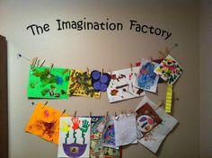 Kids art room.