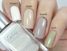Brit Nails: Barry M Gelly Nail Paint Summer 2014 - Swatches, Review and Comparisons