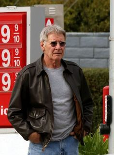 Harrison Ford - A2 Leather Flying Jacket