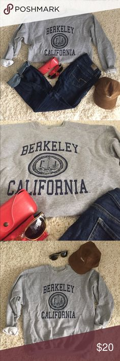UC Berkeley • crew neck sweatshirt UC Berkeley • crew neck sweatshirt. Size small. Everything pictured is for sale, if you don't see a listing just ask! Hanes Sweaters Crew & Scoop Necks