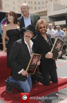 Kix Brooks, Robin Mcgraw, Star On The Hollywood Walk Of Fame, Walk Of Fame