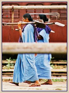 Woman Railway Workers in Bangalore