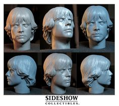 Luke Skywalker Headsculpt by TrevorGrove.deviantart.com on @deviantART