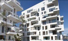 01 Modern Harbor Apartment Design Facade Look Exterior - Modern apartments design exterior