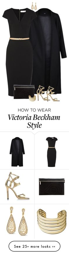 """Victoria Beckham dress"" by ginga1203 on Polyvore"