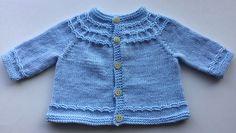 Seamless Yoked Baby Cardigan free knitting pattern and more baby cardigan sweater knitting patterns