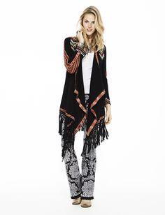 Odd Molly 615M-643 wilderness long cardigan and buzzard leggings 615M-647 | FW15 Lookbook | Knitwear