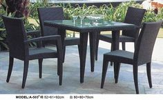 outdoor synthetic rattan table chairs  www.facebook.com/pages/Foshan-Fantastic-Furniture-CoLtd                                                         www.ftc-furniture.com