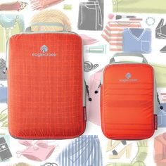 Create more space in your bag with our Eagle Creek products!