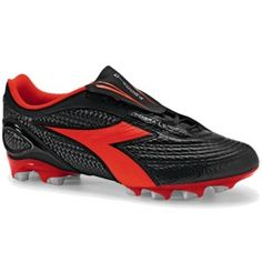 10801dba5 SALE - Diadora Kobra Plus LT BX 14 Soccer Cleats Mens Black Leather - Was   69.99