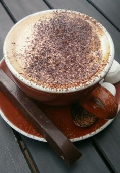 The reason I love coffee cafes I Love Coffee, Coffee Cafe, Tiramisu, Cooking, Ethnic Recipes, Food, Cafes, Kaffee, Kitchen