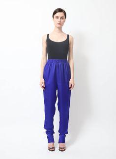 Lanvin | Royal Blue Harem Pants | RESEE